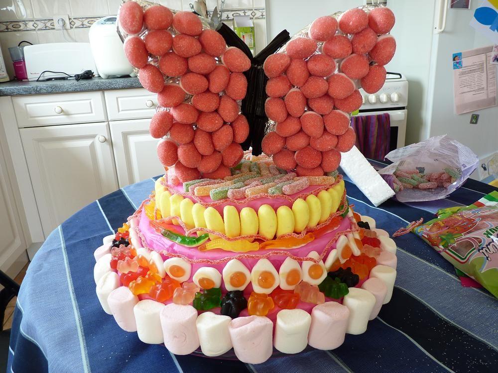 G teau en bonbons - Idee paquet bonbon pour anniversaire ...